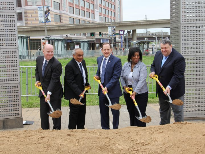 Construction Begins to Expand and Enhance Civic Center Transit Center