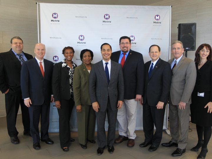 HUD Secretary Julián Castro Commends Bi-State Development for Connecting All of the Dots for Economic Opportunity and Quality of Life