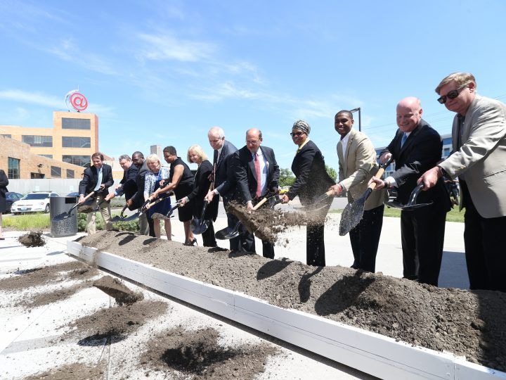 Construction on the first new MetroLink station in more than a decade will be built in the Cortex Innovation Community