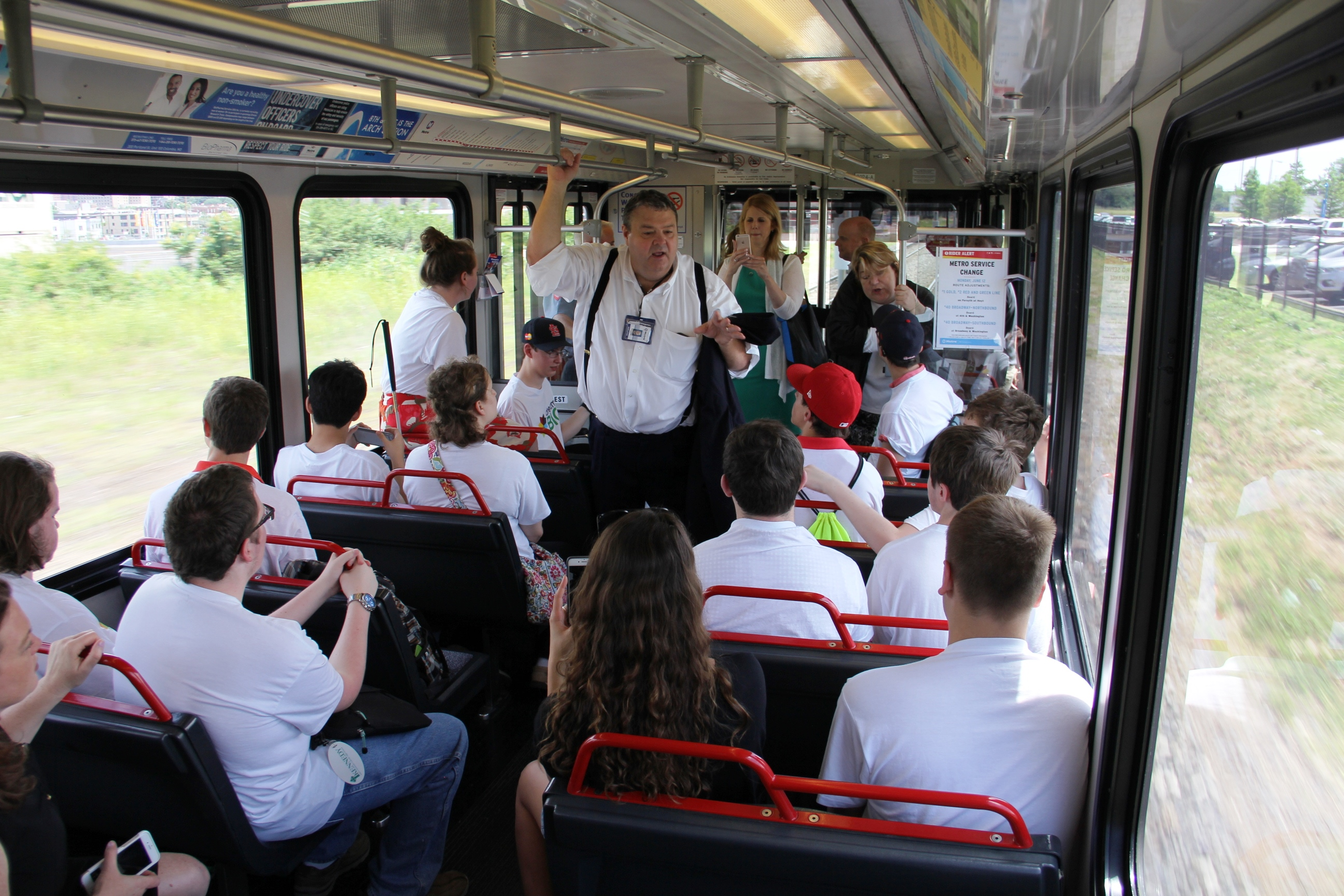 Students Learn Firsthand How Metro Offers Independence