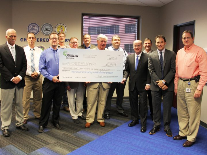 Bi-State Development Receives $243,000 Incentive from Ameren Missouri