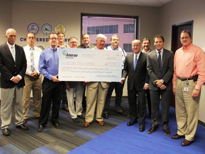 Bi-State Development Receives $243,000 Incentive from Ameren Missouri