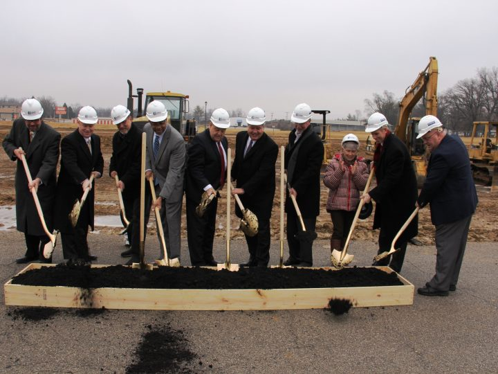 Regional Leaders Break Ground for Senior Apartments at Swansea MetroLink Station