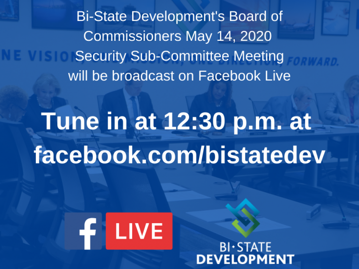 Bi-State Development to Host Virtual Sub-Committee Meeting on May 14