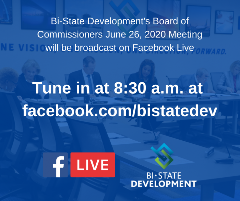 Bi-State Development to Host Virtual Board Meeting on June 26