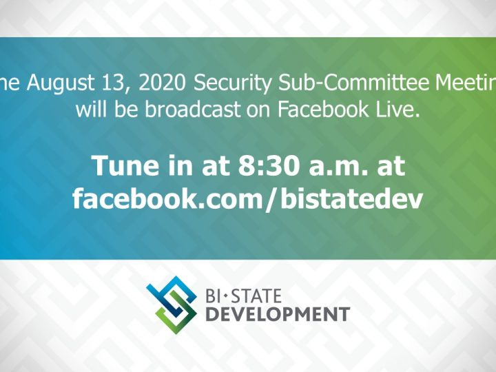 Bi-State Development to Host Virtual Sub-Committee Meeting on August 13