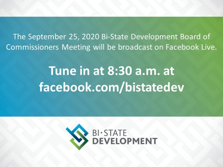 Bi-State Development to Host Virtual Board Meeting on September 25