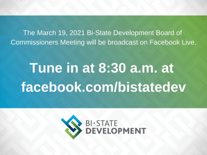 Bi-State Development Board of Commissioners to Meet Virtually on March 19