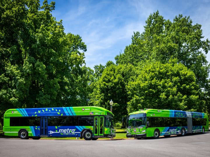 Metro Transit Puts Its First Electric Buses into Service in the St. Louis Region