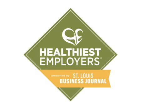 Logo for the St. Louis Business Journal's Healthiest Employers List
